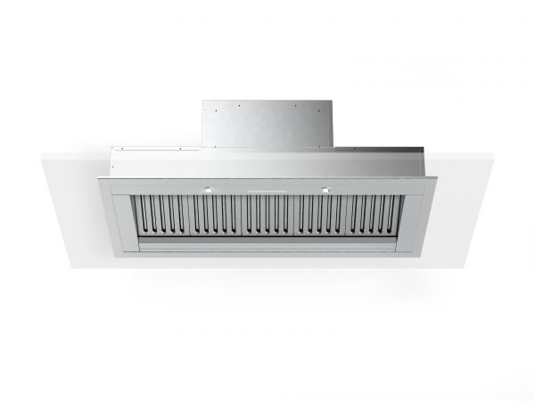 36 in. Cabinet Insert Mounted Vent Hood with Lights, Stainless-steel