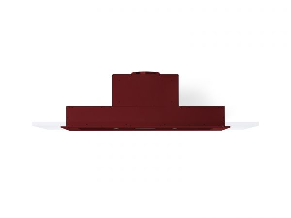 60 in. Cabinet Insert Mounted Vent Hood with Lights, in Burgundy