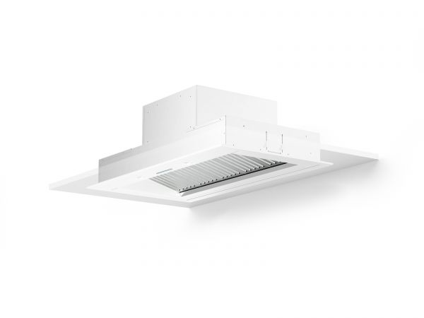 60 in. Cabinet Insert Mounted Vent Hood with Lights, White