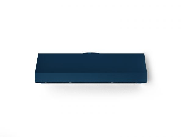 40 in. Under Cabinet Mounted Vent Hood with Lights, in Blue