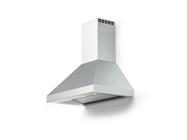 36 in. Wall Canopy Mounted Vent Hood with Lights, in Stainless-steel