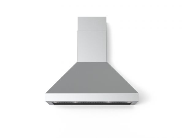 40 in. Wall Canopy Mounted Vent Hood with Lights, in Stainless-steel