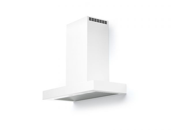 30 in. Wall T-Shape Mounted Vent Hood with Lights, in White