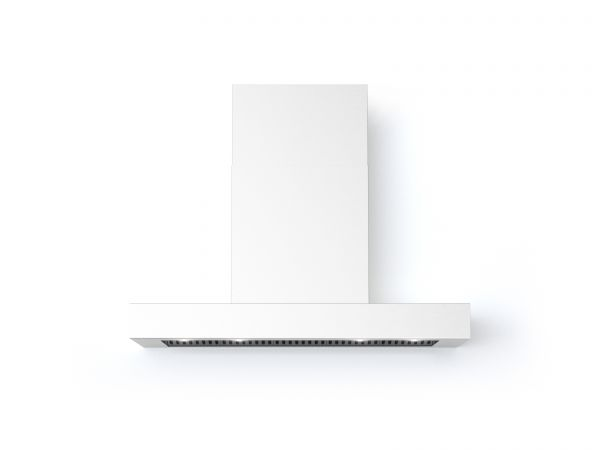 40 in. Wall T-Shape Mounted Vent Hood with Lights, in White