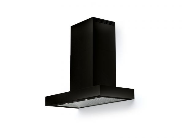 60 in.Wall T-Shape Mounted Vent Hood with Lights, in Glossy Black
